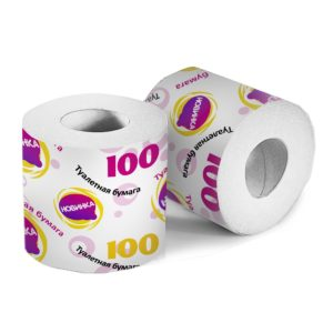 "Туалетная бумага ""Новинка 100""со втулкой"