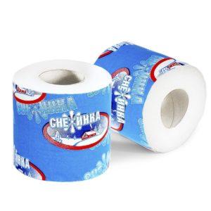 "Туалетная бумага ""Снежинка""со втулкой"