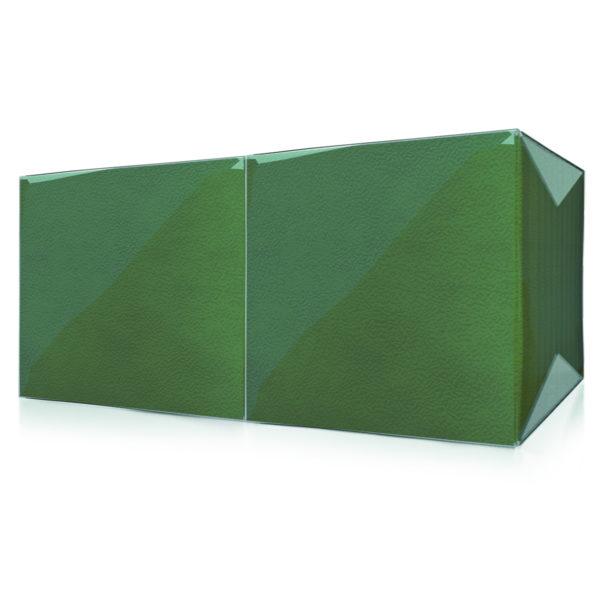 """Салфетки""""Lista"""" 1 слойинтенсив  зеленые"""