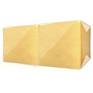 """Салфетки""""Lista"""" 1 слойинтенсив  желтые"""